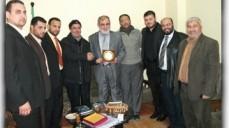 في إطار فعاليات يوم المحاسب الفلسطيني جمعية المحاسبين تزور فضائيتي الأقصى والجزيرة