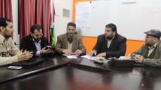 نقيب المحاسبين يلتقي بوفد جمعية المجلس الأهلي لمنع حوادث الطرق