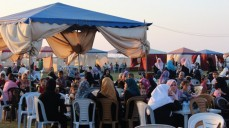 جمعية المحاسبين تنظم الافطار الجماعي في استراحة الهدى