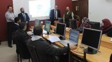 نقابة المحاسبين تستقبل مدير عام شركة فلسطين للكمبيوتر( سمارت سوفت)