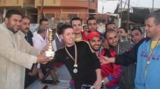 تتويج فريق جمعية المحاسبين في قطاع غزة بطلاً لبطولة الربيع الثانية لخماسيات كرة القدم التي نظمها نادي موظفي وكالة الغوث في غزة