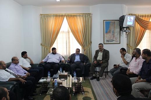 خلال زيارة نظمتها... جمعية المحاسبين تهنئ وزير العدل بمنصبه الجديد
